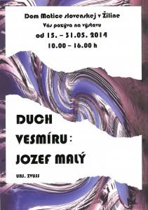 jozef_maly_-_duch_vesmiru_-_plagatik_1
