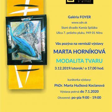 MARTA HORNÍKOVÁ